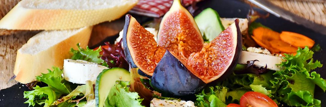 szybka sałatka z figą